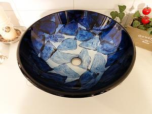 Lasinen pesuvati, Glow Blue SS117