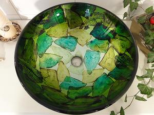 Lasinen pesuvati, Glow Green SS116